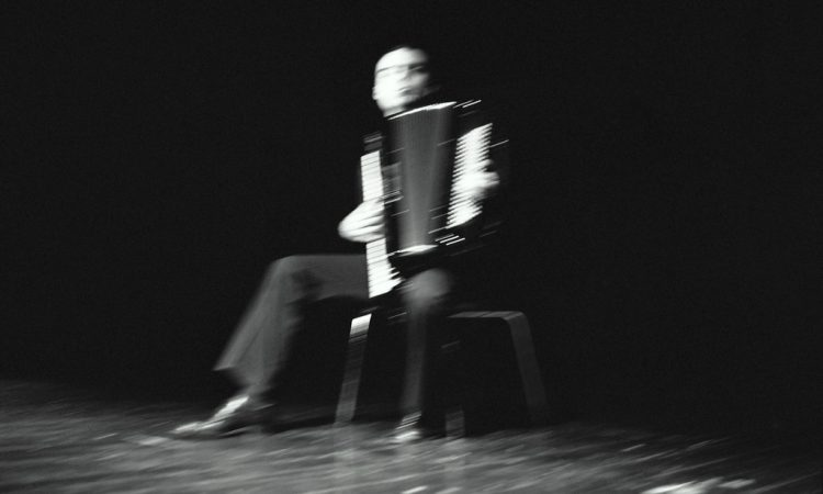 Toronto accordion performer, accordion player, and accordion artist Branko Dzinovic.